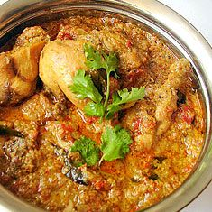 Chicken Angara Ingredients 1 chicken cut into medium pcs. 1 tbsp ginger garlic paste 1 tbsp green chilli paste 1 tsp turmeric powder 250 gm curd salt to taste Marinate the chicken with the above masala for 2 hrs. Puree of 4 big tomatoes Fry 4 onoins and grind it with the tomato puree. 1 …