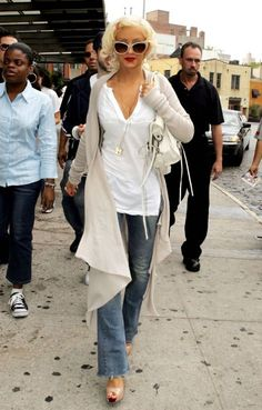 Christina Aguilera August 2006