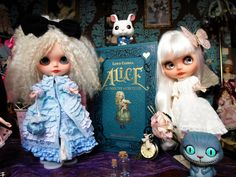 Blythe doll Alice and the white queen   Benjamin Lacombe