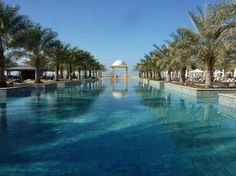 Hilton Ras Al Khaimah Resort & Spa- 1.5 hours outside of Dubai but PURE relaxation