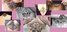 Tattoo Vorlagen für unter der Brust