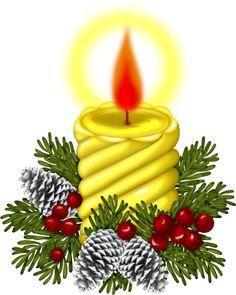 Feestdagen-Tubes: Kerst Kaarsen met 1 Kaars(50)
