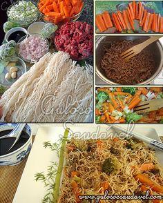 #BomDia! Este é um #almoço perfeito para os dias de preguiça ou sem tempo... Um delicioso Iakibifum de Carne, é #SemGlúten e #SemLactose !  #Receita aqui: http://www.gulosoesaudavel.com.br/2011/04/30/yakibifum-de-carne/