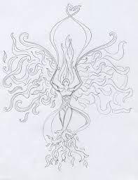 phoenix woman tattoo - Google Search