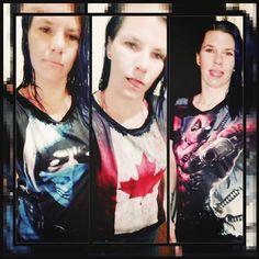 Pras mulheres? Tem também! Olha a Francine Braga com sua nova coleção de camisetas :D Adoramos!!!