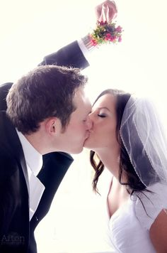 CHRISTMAS WEDDING - mistletoe picture <3