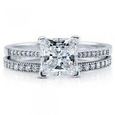 #Berricle                 #ring                     #Princess #Canary #Cubic #Zirconia #Sterling #Silver #Bridal #Ring #1.96 #Carat ##vr038                 Princess Cut Canary Cubic Zirconia CZ 925 Sterling Silver Bridal Ring Set 1.96 Carat #vr038                                       http://www.seapai.com/product.aspx?PID=1263388