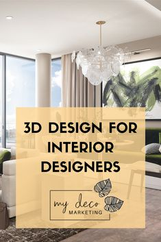 Everything you need to know about 3D Design for interior designers Design Blogs, 3d Design, Your Design, Interior Blogs, Interior Inspiration, Future Vision, Interior Design Business, Living Spaces, Living Room