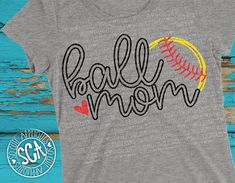 Softball SVG softball mom svg ball mom svg design Softball Mom, Softball Shirts, Baseball Mom, Softball Sayings, Softball Cheers, Softball Crafts, Softball Pitching, Softball Stuff, Baseball Stuff