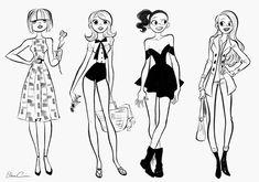 Els-A-Sketch: Mint Corral - Fashion (2012)