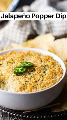 Cheese Dip Recipes, Corn Recipes, Easy Dip Recipes, Mexican Food Recipes, Great Recipes, Jalapeno Recipes, Favorite Recipes, Recipies, Mexican Appetizers