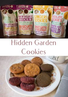Hidden Garden Cookies Review & Giveaway ~ Alisha Enid