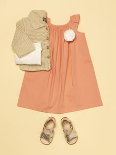 Sweet and classic little girls outfit