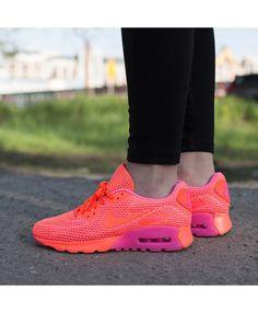 buy online d11b7 3ecd0 Nike Air Max 90 Ultra Breathe Pink Purple Trainers UK Purple Trainers, Air  Max Sneakers