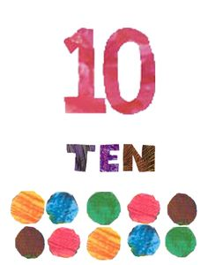 Eric Carle Inspired Number Posters from Amy Biddison at Teachers Pay Teachers-- two dollars Classroom Decor Themes, School Decorations, Classroom Design, Classroom Displays, Preschool Art, Kindergarten Classroom, Future Classroom, Classroom Organization, Classroom Ideas