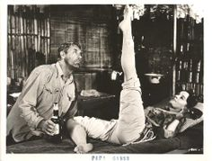 Cary Grant and Leslie Caron -- Father Goose