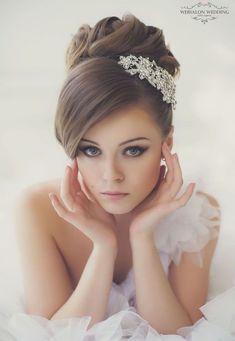 Preciosos Peinados de Novia 9 #peinadosdenovia