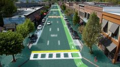 The roads of the future are closer than you think and this is what they are going to look like! #SolarRoadways #spon
