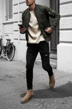 Mens Fall Outfits, Winter Mode Outfits, Stylish Mens Outfits, Winter Fashion Outfits, Men Winter Fashion, Trendy Mens Fashion, Casual Male Outfits, Stylish Clothes For Men, Men Clothes