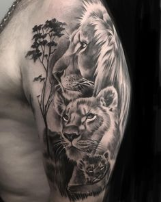 Visit the post for more. Lion Tattoo Girls, Lion And Lioness Tattoo, Lion Arm Tattoo, Mum Tattoo, Lion Tattoo Sleeves, Lion Head Tattoos, Lion Tattoo Design, Tattoo For Son, Leg Tattoo Men