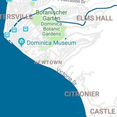 Top Kreuzfahrt-Ausflüge in Roseau (Dominica) - Meine Landausflüge Roseau Dominica, Botanical Gardens, Castle, Victoria, Caribbean Cruise, Lawn And Garden, Crosses, Castles
