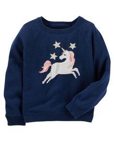 Cozy Unicorn Sweater