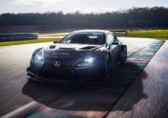 Premium sport. You're thinking about Audi,BMW or Mercedes? Forget it, Lexus brings his race tuned midsize Coupé RC F GT3. In the USA, Lexus has supplied two Lexus RC F GT3 to the 3GT Racing team, to compete in the GTD class of the IMSA WeatherTech SportsCar Championship Series. In Japan, two cars are contesting the GT300 class of the Super GT Series with the LM corsa team. The RC F is included with many details. The 5.4L engine, over 500HP, a weight of 1,3kg and fantastic transmission.