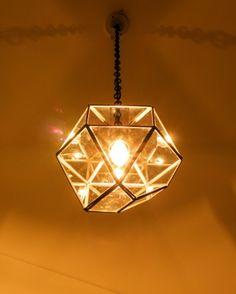 シルバーカラー LAMP by CRAFT TERRARIUM 1BULB PENDANT LIGHT SQUARE(電球なし)見る