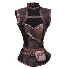 SHARE & Get it FREE   Buckled Pocket Desige Strappy CorsetFor Fashion Lovers only:80,000+ Items • FREE SHIPPING Join Nastydress: Get YOUR $50 NOW!