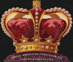Fowler Bros. Ltd., New York and Liverpool. Anglo American Provision Co. Union Stock Yards, Chicago. Awarded Jas. Wright & Co's Crown brand, Royal Agricultural Show, Liverpool, 1892. [back] | Flickr - Photo Sharing!