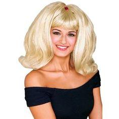 Halloween Annabelle Dolly Wigs Wednesday Oktoberfest Fancy Dress