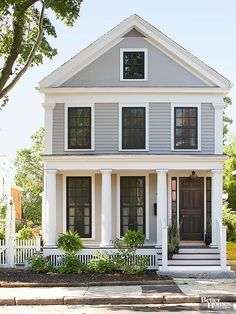 Colonial Home Colors Paint Color Ideas For Colonial Revival Houses  Wood Entry Doors .