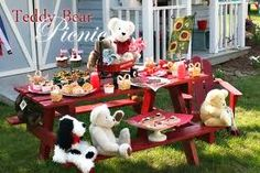 teddy bear picnic party ideas - Google Search