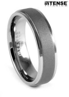 27 Best Titanium Wedding Rings Images Titanium Wedding Rings