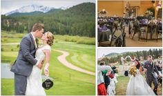 Weddings at Shining Mountain Golf Club in Woodland Park, Colorado.