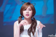 Apink - Hayoung Kpop Girl Groups, Kpop Girls, Oh Hayoung, Korean Anime, Pink Panda, The Most Beautiful Girl, Love At First Sight, Asian Beauty, About Hair
