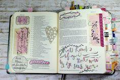 Bibleartjournaling zu Hiob 42