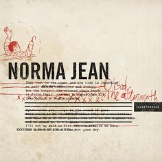 Grammy nominated music packaging by Invisible Creature for the band Norma Jean.