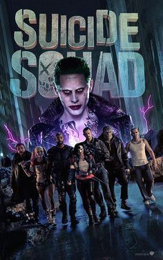 Suicide Squad Poster by MessyPandas