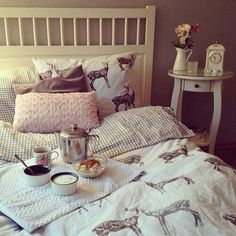 Can't stop fawning over this super cute bedding!
