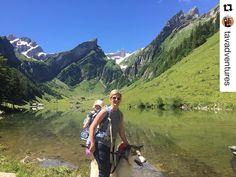 Repost @tavadventures  Today was a good day! #alps #Swiss #Switzerland #seealpsee #myswitzerland #nofilter #nofilterneeded #myilypet #alaskanmalamute #travel #travelwithkids #hiking #adventure #explore #hikingwithkids