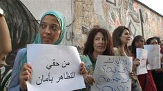 Women brave attack to protest sexual harassment in Egypt