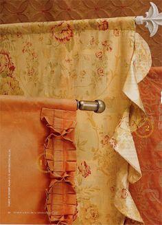 Fabulous Window Treatments: drapery panels