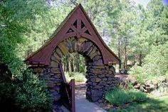 Gate at the Riordan Mansion, Flagstaff, Arizona