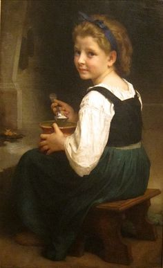 File:'Girl Eating Porridge' by William Adolphe Bouguereau, Cincinnati Art Museum.JPG