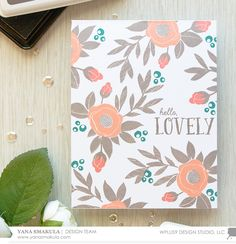 Stamp Away With Me: One Layer Spring Blooms with Yana
