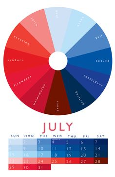 july. - Graphic Design