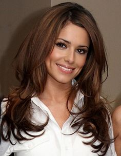 Cheryl Cole, Hairstyle, Long Layered Hair