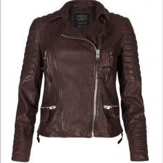 3d8f1c8289f0 New Womens Leather Motorcycle Biker Jacket 100 Genuine Soft Lambskin LJ 002