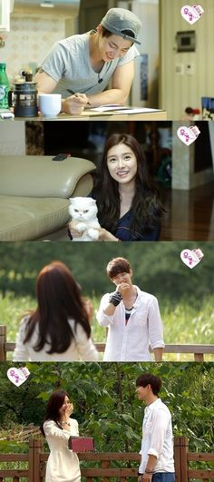 """Song Jae Rim and Kim So Eun's First Meeting on """"We Got Married"""""""